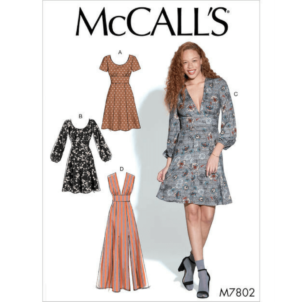 Mccalls dress pattern 7800