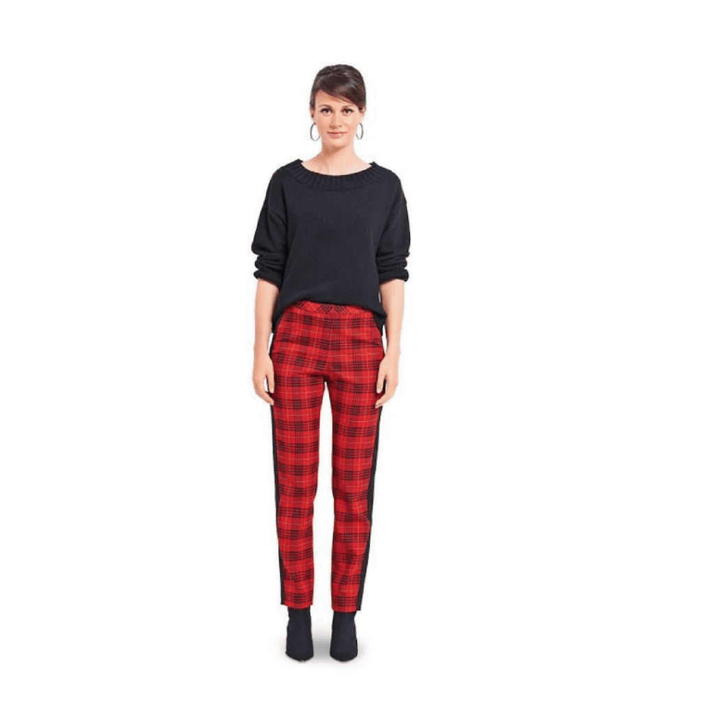burda 6377 trouser pattern
