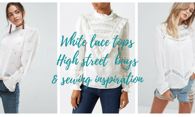 6 of the best white lace blouses on the high street today